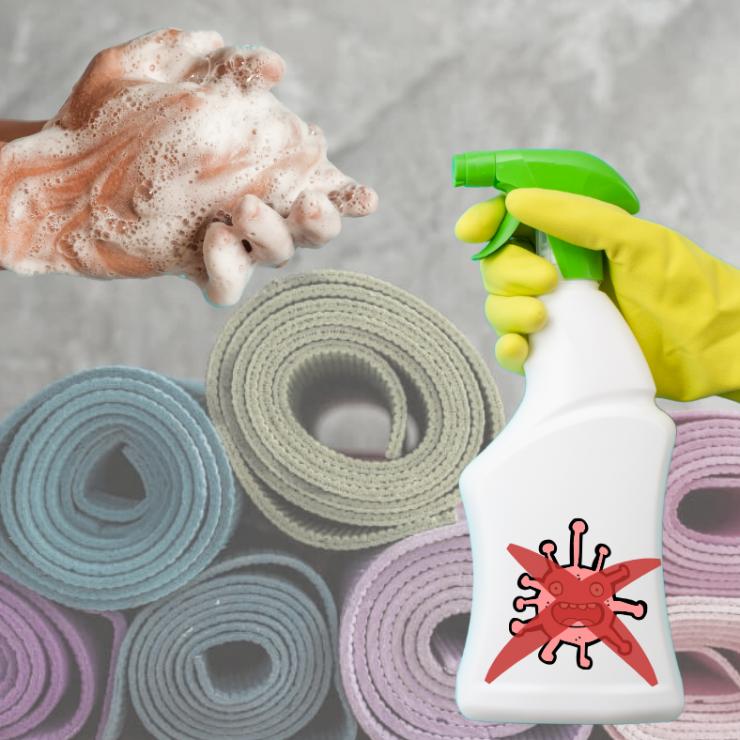 zvýšená prevencia a hygiena v štúdiu TVOJA JOGA